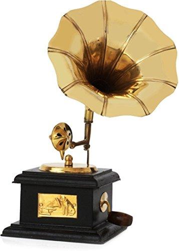 Hashcart, grammofono realizzato a mano in stile vintage, ideale per la casa e come idea regalo