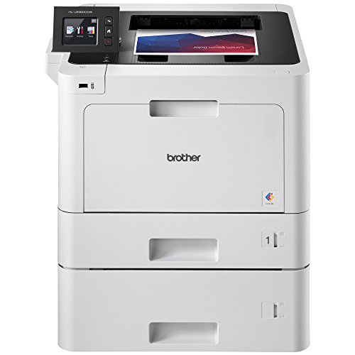 Brother Business Color Laser Printer, HL-L8360CDWT, Wireless Networking, Automatic Duplex Printing, Mobile Printing, Cloud Printing, Amazon Dash Replenishment Ready