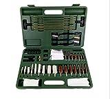 WDSZXH Kit de Limpieza de Pistola Universal para Pistola,Bolsa de Rango Portátil Compacta con Latón,Puntas,Cepillo,Varillas y Selección de Limpieza de Pistola