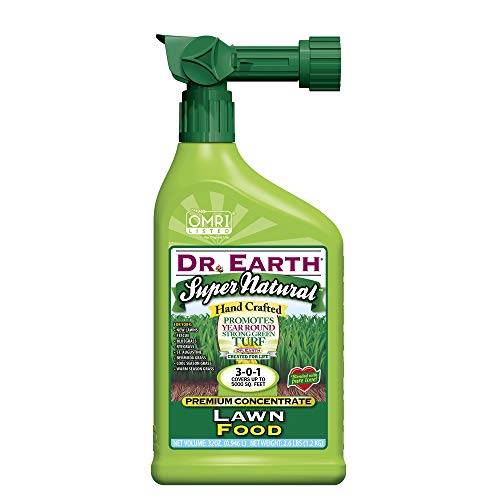 Dr. Earth Super Natural Liquid Lawn Fertilizer 32 oz RTS