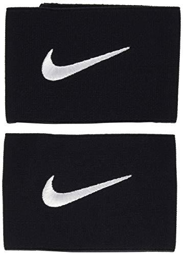 Nike, Banda protege tibia ,Taglia unica,Nero/Bianco