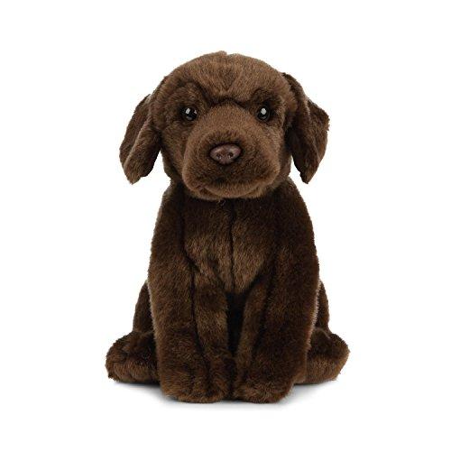 Living Nature knuffeldier Labrador, bruin (chocolade) 20cm Dog Onbekend.