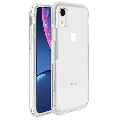 Krichit Phone Protective Case, Ongoing Clear Series Case for iPhone XR Case, Anti-Drop Shock Absorption for Apple iPhone XR Case (Clear, iPhone XR)
