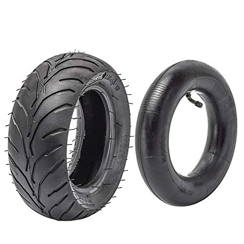 Best Bargain JCMOTO Tire and inner tube kit 110/50-6.5 fo 38cc 47cc 49cc Mini Pocket bike Dirt Pit B...