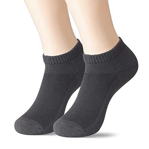 +MD Unisex sneaker sokken Bamboe sokken Superzacht vochtafvoerend en antibacterieel laag uitgesneden