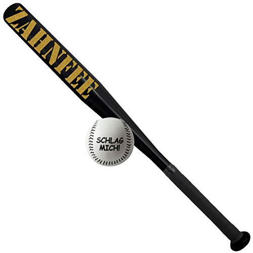 Spass kostet Sportset Baseballschläger mit Ball Zahnfee Gold Aluminium 26 Zoll