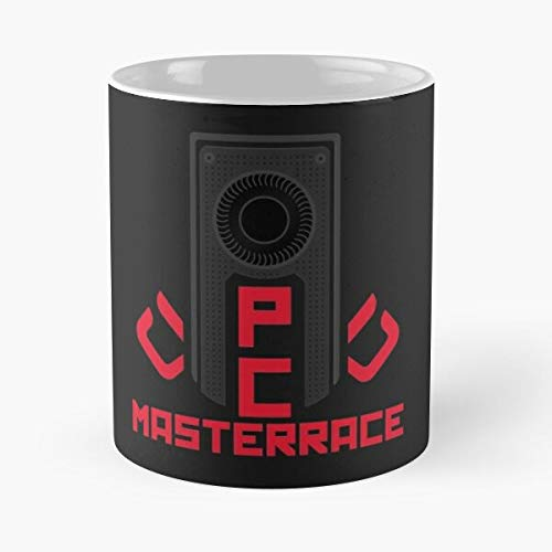 Pc Masterrace [Amd] – El mejor 11 oz 15 oz fabricado a partir de taza de café de cerámica de mármol blanco que je personalize