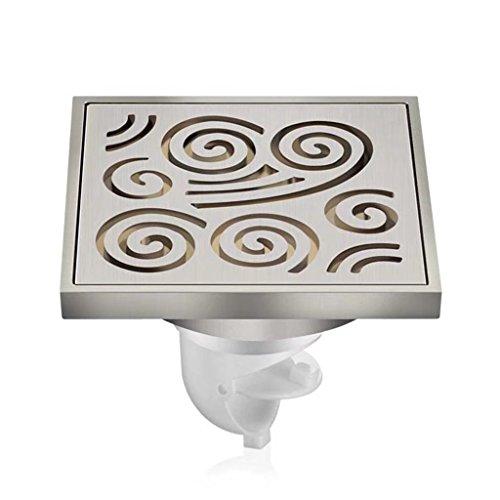 Sistema di drenaggio del bagno della cucina con scarico a pavimento deodorante