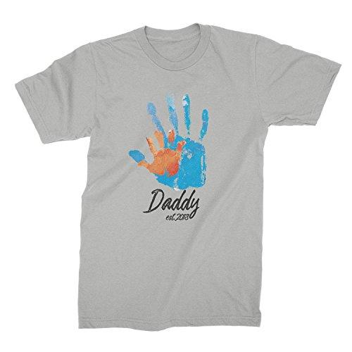 DAD EST 2018 Shirt New Parents Shirt New Tshirt