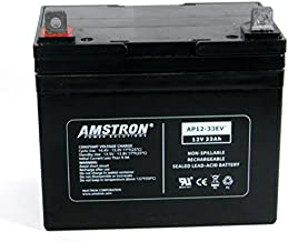 Amstron 12V / 33Ah Electric Vehicle Battery w/ NB Terminal