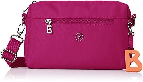 Bogner Damen Verbier Pukie Shoulderbag Shz Schultertasche, Pink (Fuchsia), 4x15x22 cm