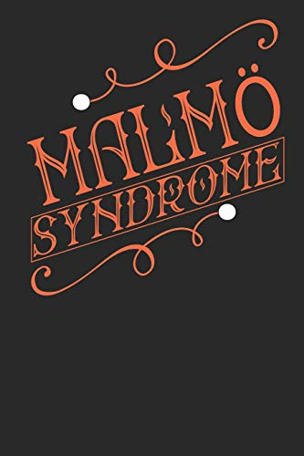 Malmö Syndrome: Malmö Notebook - Malmö Vacation Journal - Handlettering - Diary I Logbook - 110 Journal Paper Pages - Malmö Buch 6 x 9