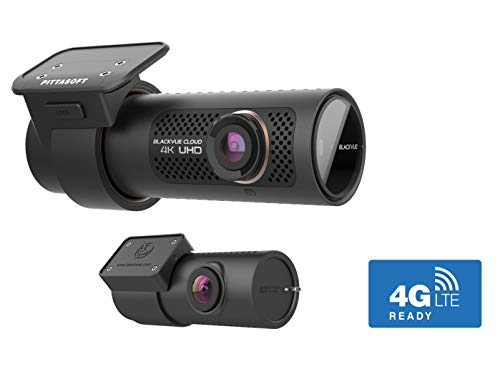 BlackVue DR900X-2CH (256 GB) UK Edition - 4K Ultra HD Front & Rear Dash Cam with 8-MP CMOS Sensor, Wi-Fi, GPS, Bluetooth, Intelligent Parking Mode, 4G LTE Capability for Always-On Cloud Connectivity Logo