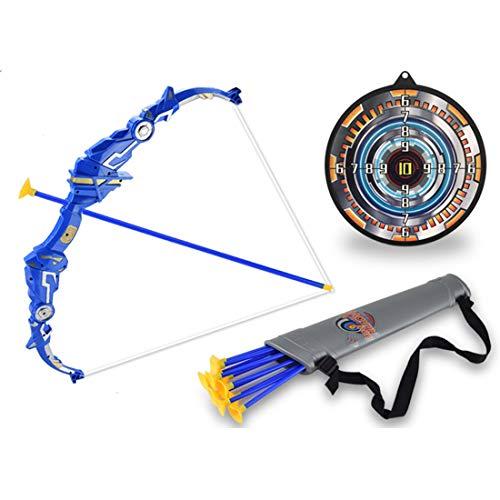 IDKII 18er Set Pfeil und Bogen Kinder Set Schießspiele mit Zielscheibe Schießen Spielzeug für ab 3 Jahre