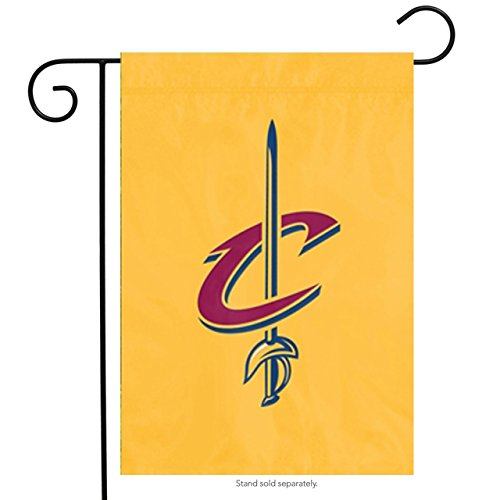 Party Animal NBA Cleveland Cavaliers Unisex Cleveland Cavaliers Garden Flag - Window Flag - Indoor/Outdoor Flag, Team Color, 15