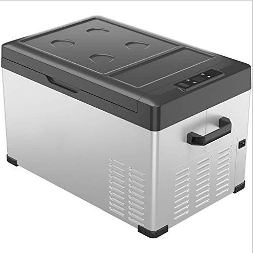 30L Auto Koelkast Car Dual-Use Mobiele Telefoon Bluetooth APP Intelligent Temperature Control Compressor Refrigeration Kleine Koelkast (12V / 24V / 220W)
