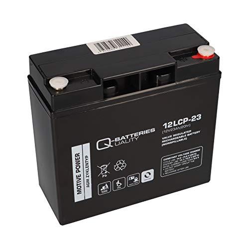 Blei Akku 12V 23Ah AGM Batterie ersetzt 17Ah 18Ah 20Ah 22Ah 19Ah Zyklentyp AGM - Deep Cycle VRLA Schraubanschluss M5