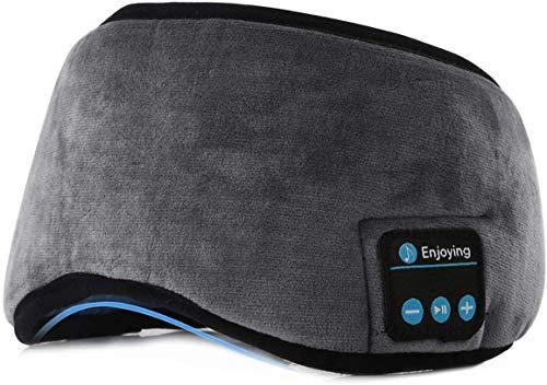 Cuffie per il sonno Cuffie per lo sport con fascia Bluetooth wireless con altoparlanti stereo HD ultrasottili perfette per dormire, fare esercizio, fare jogging, yoga, insonnia, meditazione (Grigio)