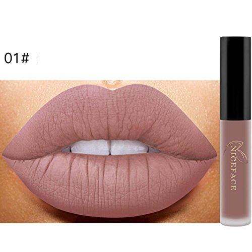 Gaddrt NICEFACE Neue Lippe Lingerie Matte Liquid Lippenstift Wasserdichte Lip Gloss Makeup 12 Shades...