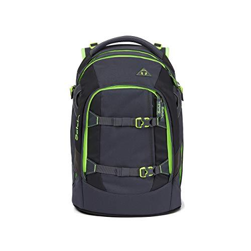 Satch Pack Phantom, ergonomischer Schulrucksack, 30 Liter, Organisationstalent, Grau, SAT-SIN-004-802, Grey Neon