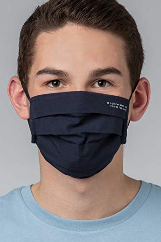 Mey Basics Serie Masken Herren Mund- und Nasenmasken Blau L