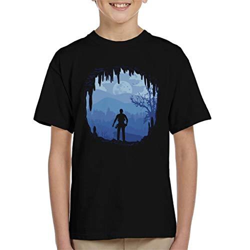 Cloud City 7 Hideout Uncharted 4 Kid's T-Shirt