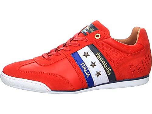 Pantofola d'Oro Imola Colore Uomo Low - Zapatillas para hombre, rojo, 46 EU