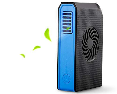 mreechan Mini Tischventilator, Power Bank Lüfter,Multifunktionaler elektrischer Mehrzweck Ventilator, kann als mobiler Strom verwendet Werden,Mini-Schreibtisch Ventilator für Zuhause und Büro