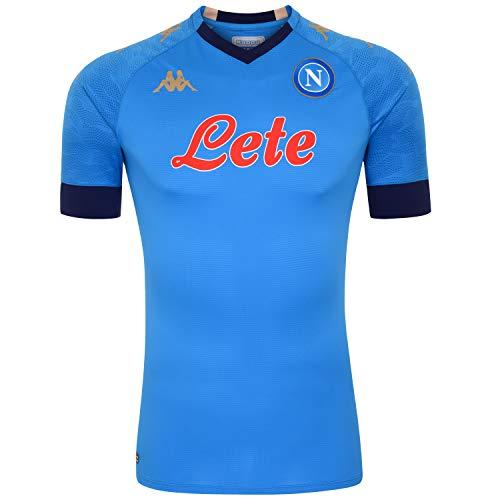 SSC Neapel Trikot Wettkampf Euro 2020/21 Unisex - Erwachsene, hellblau-blau, XXXL