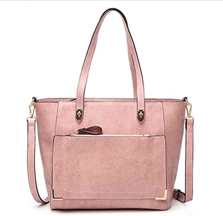 JQSM Women Shoulder Bags PU Leather Handbag Female Large Tote Handbags Business Women Crossbody Bag for Women s