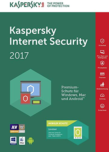 Kaspersky Lab KL1941TBEFS-7SLIM Internet Security 2017 5 Utenti Sierra Slim