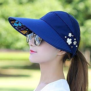 BEESCLOVER Women Lady Sunhat Beach Hat Visors Foldable Cap for Outdoor