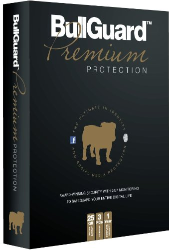 Bullguard Premium Protection - 3PC - 1 Year with 25GB Online Backup [import anglais]