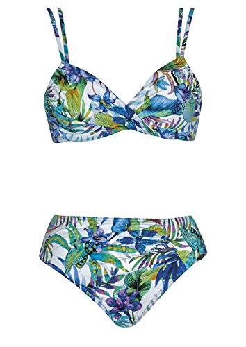 Sunflair Bikini Summer Breeze Cup C, Farbe Weiss, Größe 40