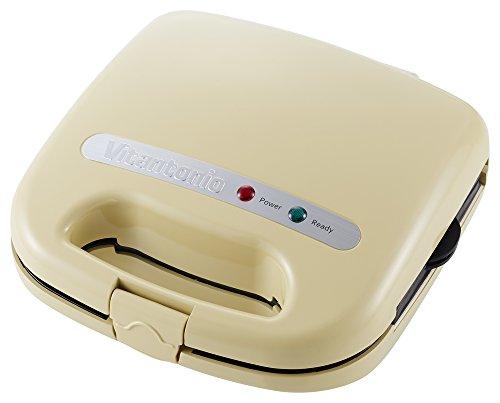 ビタントニオ ワッフル & ホットサンドベーカー スペシャルセット クリーム VWH-11-C