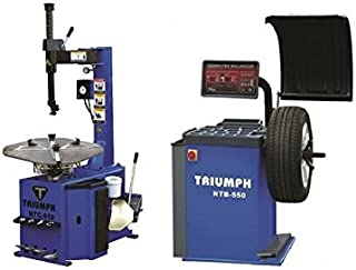 TRIUMPH NTC-950 & NTB-550 Tire Changer Wheel Balancer Combo Package