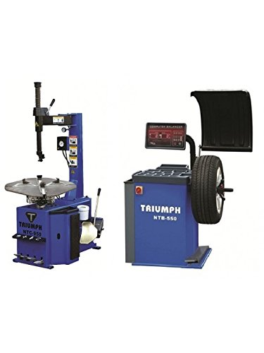 TRIUMPH NTC-950 & NTB-550 Tire Changer Wheel Balancer Combo Package