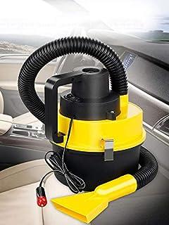 Handheld Wet And Dry Auto Car Vacuum Cleaner Yellow