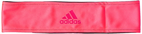 adidas Erwachsene Ten Tieband Reversible Stirnband, Black/Reflective Silver/Flash Red, OSFM