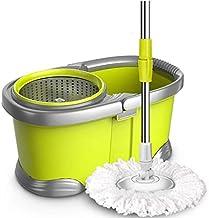 MU Large Double Drive Rotary mop Bucket automatyczne osuszanie na sucho, dobry Gott Drag Schrubber Absorbent mop zgniatani...
