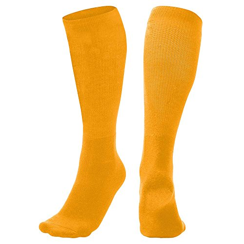 CHAMPRO Multi-Sport Socks, Single Pair, Adult Medium, Gold