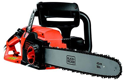 BLACK+DECKER CS2245-XE2200W,45cm Corded Chainsaw