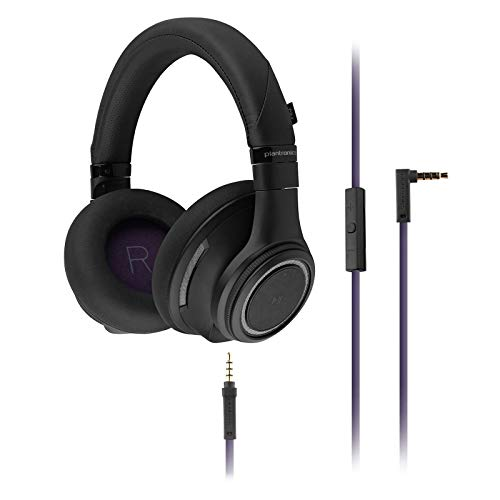Plantronics BackBeat Pro Bluetooth Noise Cancelling Headphones Black (Renewed)