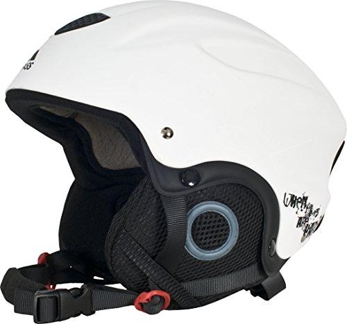 Trespass Skyhigh - Casque de Ski - Adulte Unisexe (M) (Blanc)