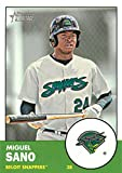 2012 Topps Heritage Minor League #6 Miguel Sano Beloit Snappers MLB Baseball Card NM-MT