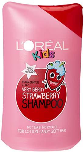 L'OREAL KIDS - Champú, fresa, 250 ml