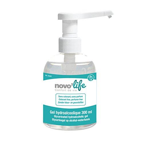 Novolife Gel Hydroalcoolique pour les mains 300 ml