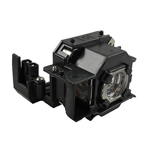 Supermait EP33 Lámpara de repuesto para proyector con carcasa, Compatible con Elplp33, adecuada para EMP-TW20 / EMP-TWD1 / EMP-S3 / EMP-TWD3 / EMP-TW20H / EMP-S3L / PowerLite Home 20 / MovieMate 25