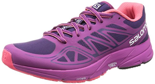 Salomon Women's Sonic AERO W-W, Cosmic Purple/Azalee Madder Pink, 8.5 B US