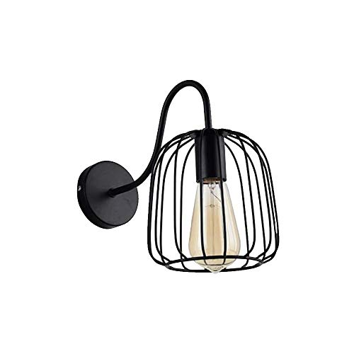 ZZM Cage Wall Light Black